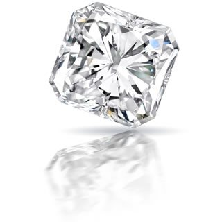 Radiant or Cut Cornered Shape Diamond