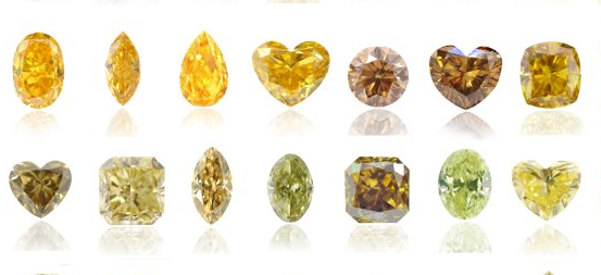 fancy canary yellow diamonds