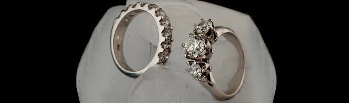 Old Miner's Cut Diamond Ring